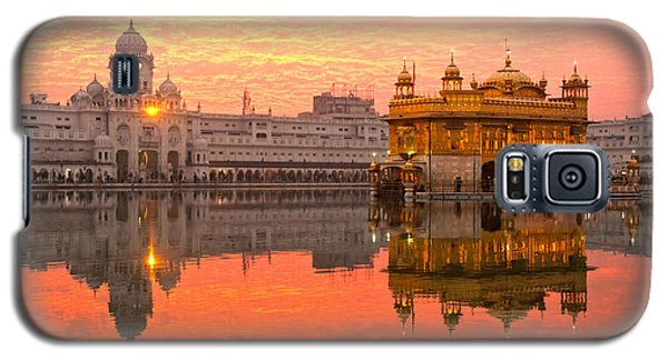 Galaxy S5 Case featuring the photograph  Golden Temple by Luciano Mortula