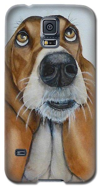 Hound Dog's Pleeease Galaxy S5 Case by Kelly Mills