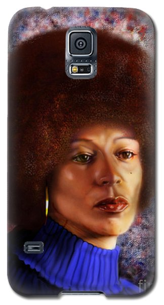 Impassable Me - Angela Davis1 Galaxy S5 Case
