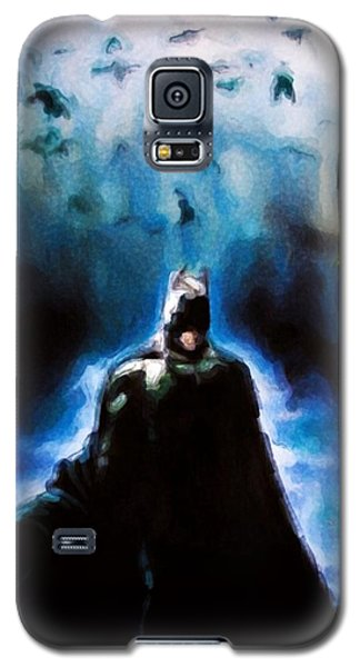 Galaxy S5 Case featuring the painting  Into The Cave by Darryl Matthews