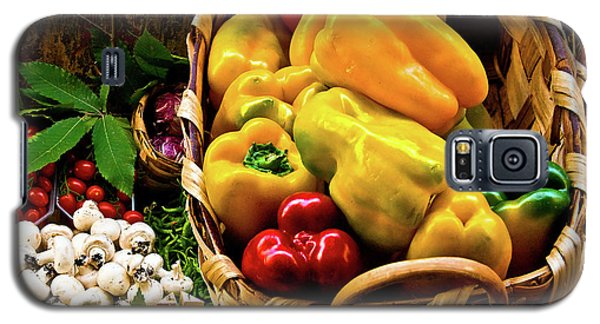 Galaxy S5 Case featuring the photograph  Italian Peppers  by Harry Spitz