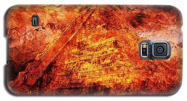 Kukulcan Pyramid Galaxy S5 Case by J- J- Espinoza