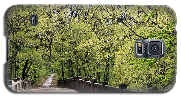 Galaxy S5 Case featuring the photograph  Matthiessen State Park In Spring by Paula Guttilla
