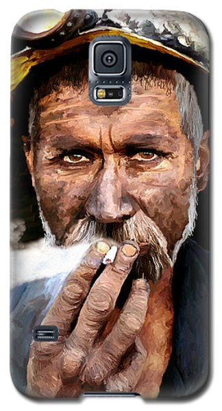 Miner Galaxy S5 Case by James Shepherd