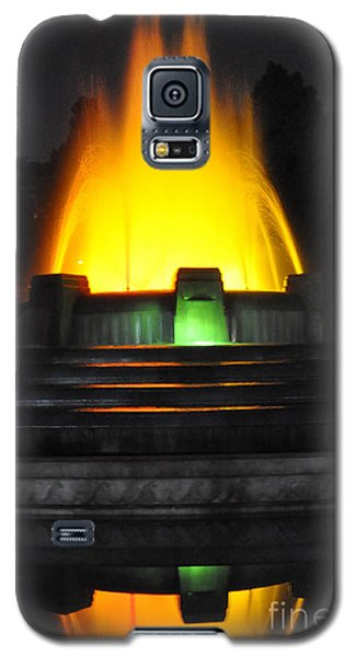Mulholland Fountain Reflection Galaxy S5 Case