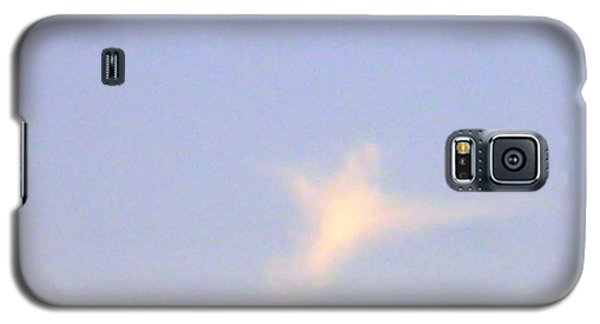 Galaxy S5 Case featuring the photograph  Natural Dove Cloud by Robin Coaker