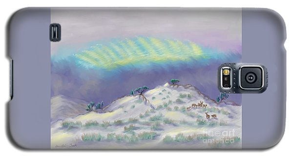 Peaceful Snowy Sunrise Galaxy S5 Case