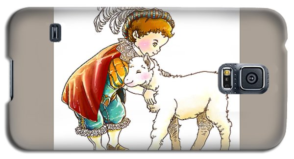 Prince Richard And His New Friend Galaxy S5 Case by Reynold Jay