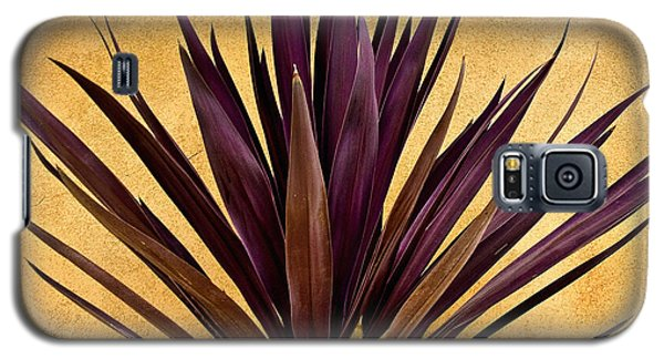 Purple Giant Dracaena Santa Fe Galaxy S5 Case by John Hansen