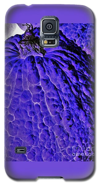 Purple Pumpkin By Jasna Gopic  Galaxy S5 Case