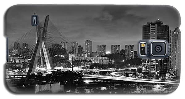 Sao Paulo Iconic Skyline - Cable-stayed Bridge - Ponte Estaiada Galaxy S5 Case