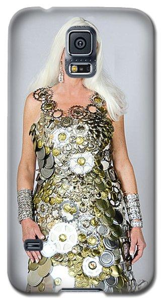 Sara In Clockwork Dragon Dress  Galaxy S5 Case