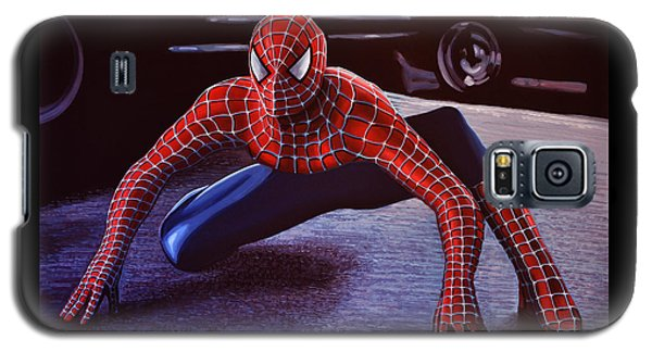 Spider Galaxy S5 Case -  Spiderman 2  by Paul Meijering