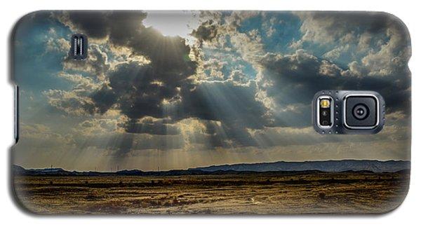 Stormy  Light Rays  Galaxy S5 Case