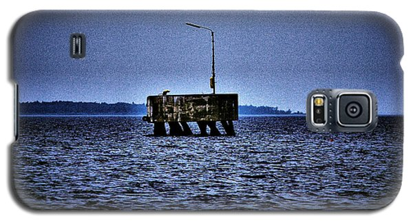 Galaxy S5 Case featuring the photograph  The Dock Of Loneliness by Jouko Lehto