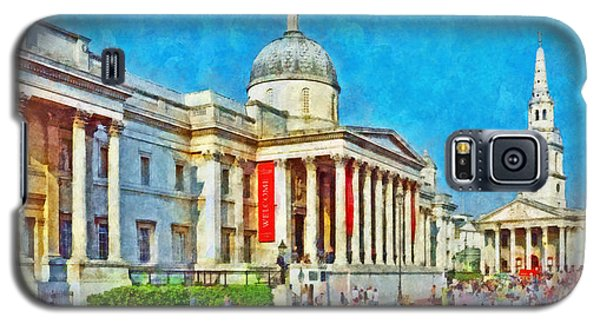 The National Gallery And St Martin In The Fields Church Galaxy S5 Case