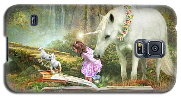 The Unicorn Book Of Magic Galaxy S5 Case