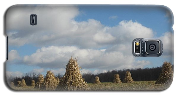 Galaxy S5 Case featuring the photograph  Tied  Up For The Winter by Jeffrey Koss