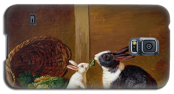 Two Rabbits Galaxy S5 Case by H Baert