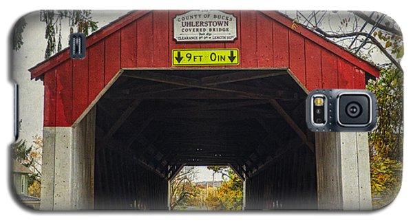 Uhlerstown Covered Bridge Iv Galaxy S5 Case