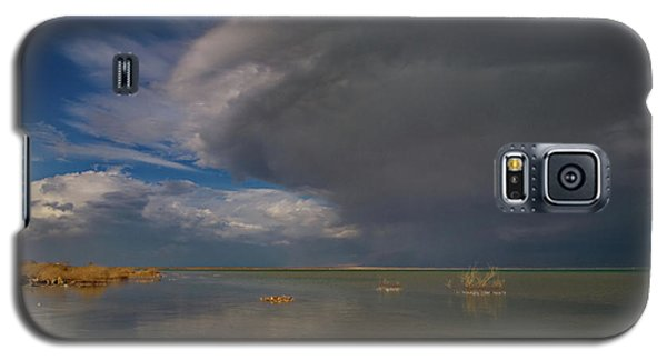 Galaxy S5 Case featuring the photograph  When The Storm Comes by Arik Baltinester