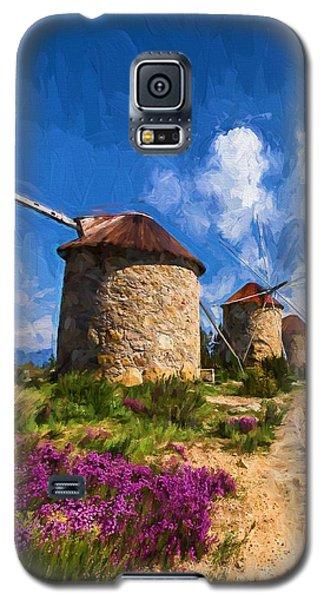 Windmills Of Portugal Galaxy S5 Case