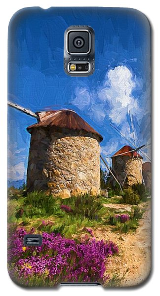 Windmills Of Portugal Galaxy S5 Case