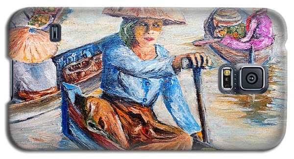 Women On Jukung Galaxy S5 Case