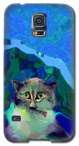 007 The Under Covers Cat Galaxy S5 Case