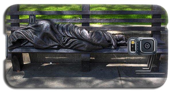 02 Homeless Jesus By Timothy P Schmalz Galaxy S5 Case