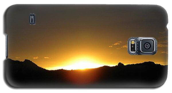 Sunrise West Side Of Rmnp Co Galaxy S5 Case