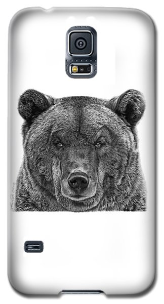 045 Papa Bear Galaxy S5 Case by Abbey Noelle