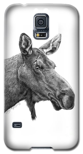 048 - Shelly The Moose Galaxy S5 Case