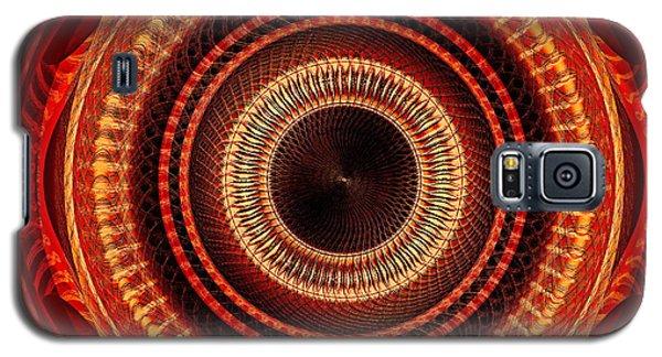 #091520152 Orange Version Galaxy S5 Case