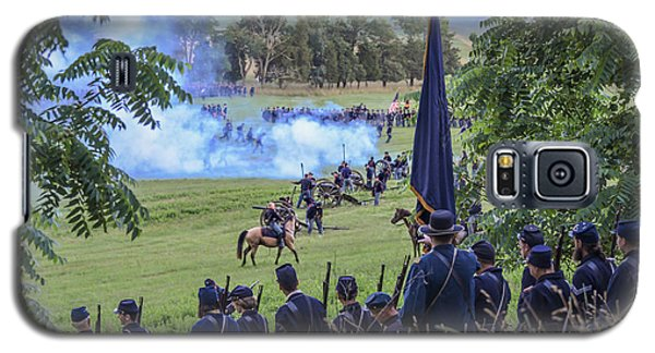 Gettysburg Union Artillery And Infantry 7457c Galaxy S5 Case