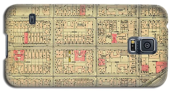1927 Inwood Map  Galaxy S5 Case
