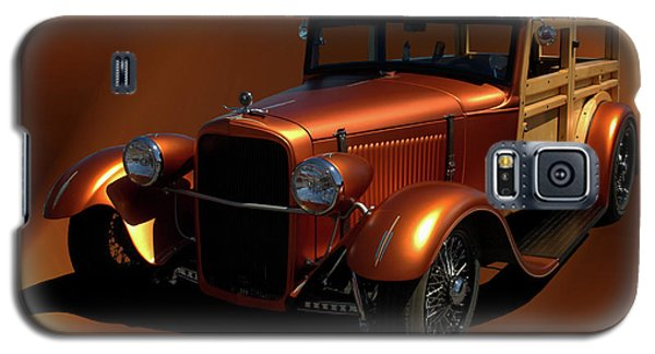 1929 Ford Model A Woody Galaxy S5 Case