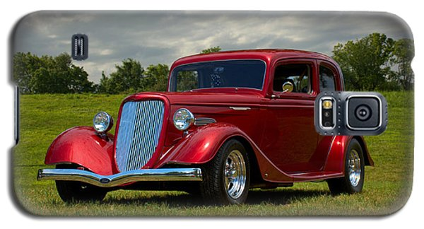 Galaxy S5 Case featuring the photograph 1933 Ford Vicky Hot Rod by Tim McCullough