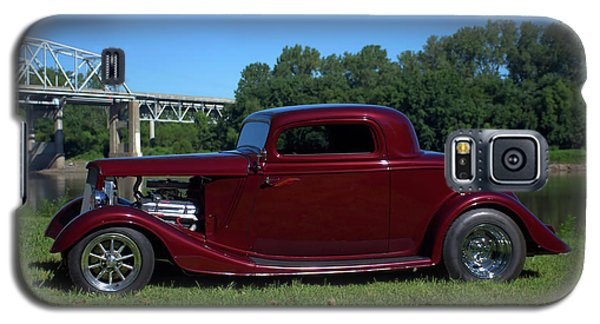 Galaxy S5 Case featuring the photograph 1934 Ford Coupe by Tim McCullough