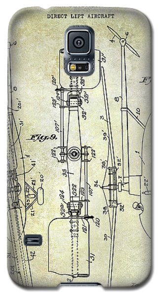 Helicopter Galaxy S5 Case - 1935 Helicopter Patent  by Jon Neidert