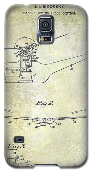 1947 Helicopter Patent Galaxy S5 Case