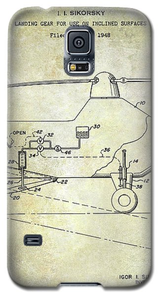 1953 Helicopter Patent Galaxy S5 Case