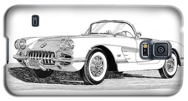 Sport Art Galaxy S5 Case - 1960 Corvette by Jack Pumphrey