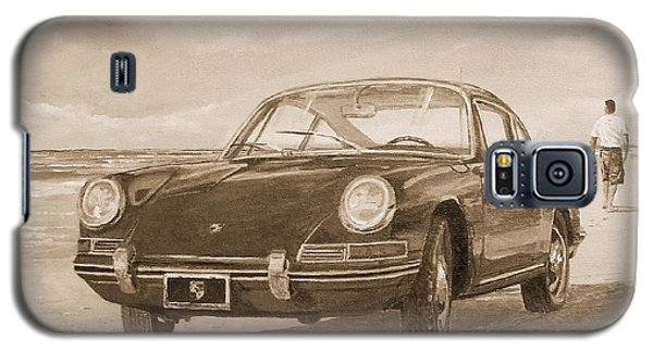 1967 Porsche 912 In Sepia Galaxy S5 Case