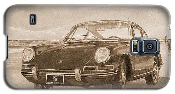 1967 Porsche 912 In Sepia Galaxy S5 Case
