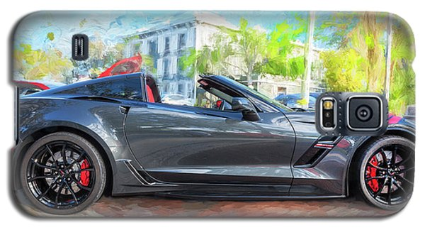 Galaxy S5 Case featuring the photograph 2017 Chevrolet Corvette Gran Sport  by Rich Franco