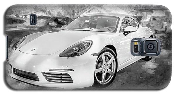 2017 Porsche Cayman 718 S  Bw    Galaxy S5 Case