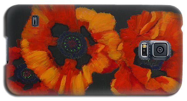 3 Poppies Galaxy S5 Case