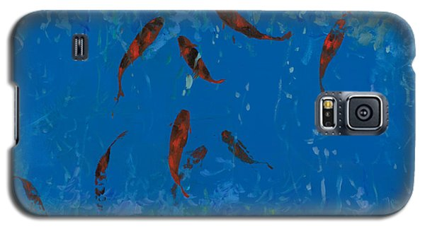 9 Pesciolini Rossi Galaxy S5 Case by Guido Borelli
