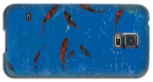 Animal Galaxy S5 Case - 9 Pesciolini Rossi by Guido Borelli